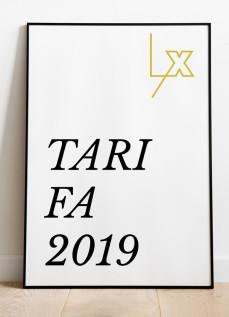 NUEVA TARIFA - ENERO 2019